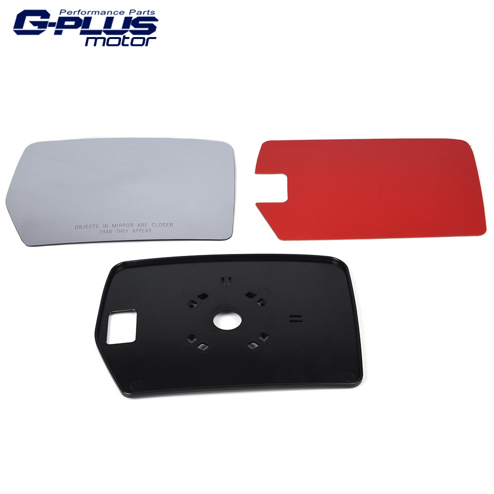 RH Passenger Side Mirror Glass Replacement For 2004-2010